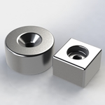 Countersunk and Counterbore Magnets