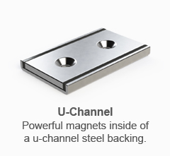 Neodymium Cup Pot Magnets Are Housed In A Stainless Steel Or With The One Face Of Magnet Exposed